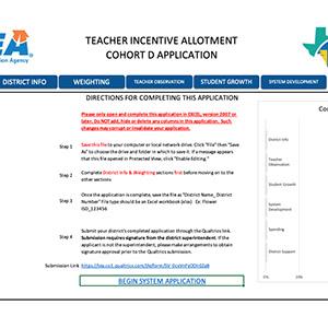 Cohort D Application
